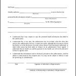 Hipaa Authorization Form Document