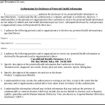 Hipaa Release Form Document