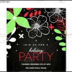 Holiday Party Invitation Template Download