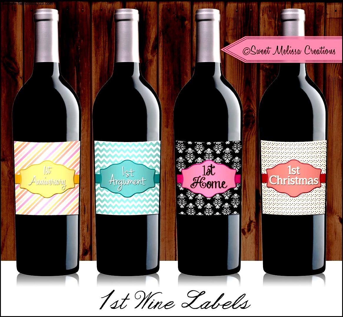 Homemade Wine Labels Templates Sample Templates Sample