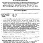 Hospital Receptionist Resume