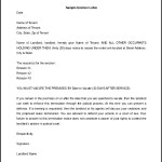 How to Write 30 Day Eviction Notice Letter Sample
