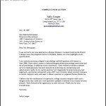 Human Resources Entry Level Cover Letter PDF Template Free Download