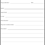 IT Task Request Form Template