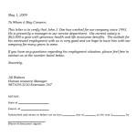 Income Verification Letter Format