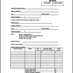 Indesign Invoice Template to Download