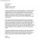 Internship Cover Letter Format