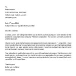 Interview Rejection Letter Response