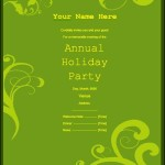 Invitation Templates Free Printable Sample MS Word