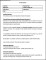 Job Description Template with Directions