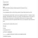 Job Offer Proposal Letter