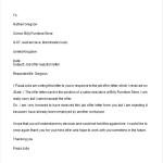 Job Offer Rejection Letter
