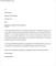 Job Rejection Letter Format