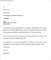 Job Rejection Letter Sample Word