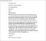 Job Termination Letter to Teacher
