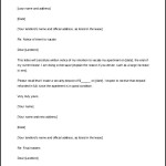 Landlord Lease Termination Letter Template Free Printable