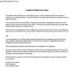Landlord Reference Letter PDF