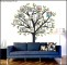 Large Family Tree Photo Wall Decal Template