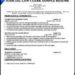 Law Office Clerk Resume Sample