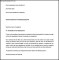 Leave Disciplinary Termination Notice Period Letter Word Format