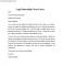 Legal Internship Cover Letter