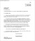 Letter for Termination of Apartment Residential Lease