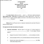 Letter of Intent Employment Contract Word Format