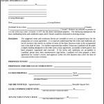Letter of Intent Form Real Estate Rental Commercial PDF Sample
