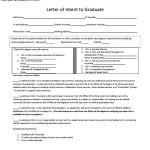 Letter of Intent Graduate School PDF