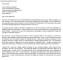 Letter of Intent Medical Residency