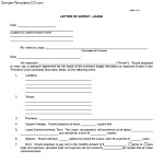 Letter of Intent Real Estate Lease