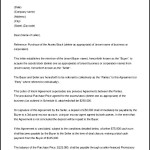 Letter of Intent Template Business Agreement Printable Download