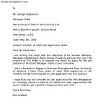 Letter of Intent for Supervisor Position