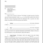 Letter of Intent to Purchase Property Template PDF Format Download
