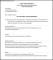 Letter of Offer and Contract of Employment Template