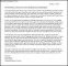 Letter of Recommendation for Scholarship Template PDF Format