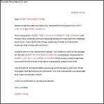 Letter of Resignation Retirement Template