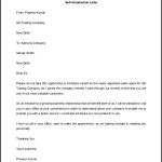 Letter of Self Introduction Template Free Download
