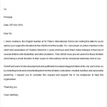 Letter of Support for Grant