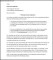 Letter of Termination of Employment with Notice