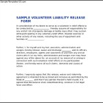 Liability Release Form Download Document