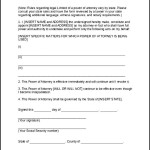 Limited Power of Attorney Template Form