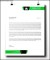 Line Business Letterhead Template PSD Download