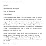 Love Proposal Letter for Girlfriend