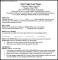 MBA Resume Template PDF Sample