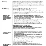 Marketing Resume Objective
