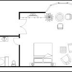 Master Bedroom Plan Template