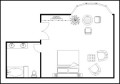 Master Bedroom Plan Template