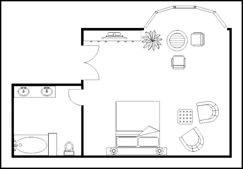 Master bedroom plan template sample templates sample for Layout design for master bedroom