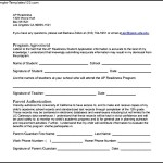 Media Release Form For Student